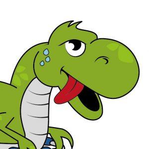 Greenie the Dino